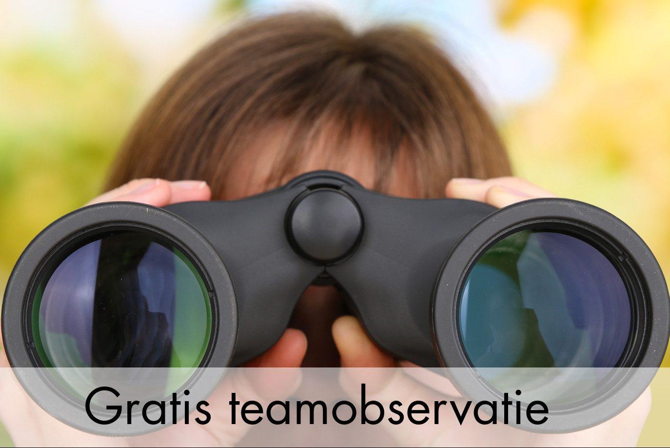 Gratis teamobservatie